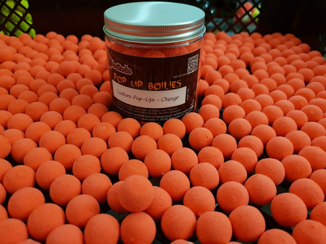 maincarp-baits Custom Pop-Ups - Fluoro Orange