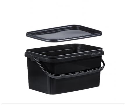 maincarp baits high quality carp food eimer mit deckel schwarz eckig 5 liter. Black Bedroom Furniture Sets. Home Design Ideas