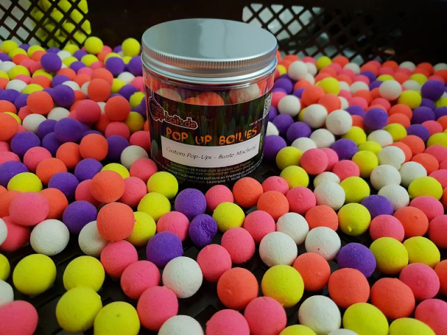 maincarp-baits Custom Pop-Ups - bunte Mischung