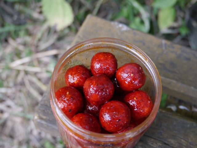 maicarp-baits soaked Hookbaits - Red Zing