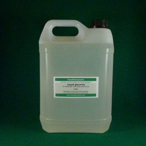 feedstimulants - Liquid Glycerine 500ml od. 5l.